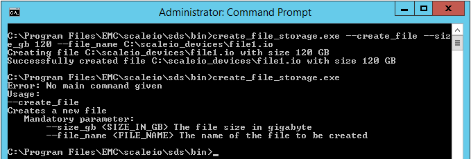 create_file_storage command line
