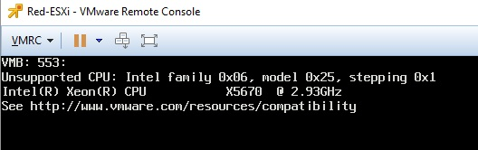 Nested ESXi 6.7 fails to boot   Kalle's playground